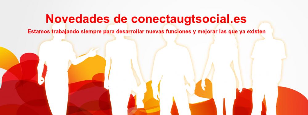 Novedades de conectaugtsocial.es